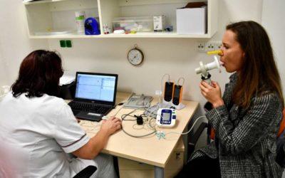 O vyšetření plic byl velký zájem
