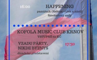Výročí 17. listopadu připomene v Krnově koncert i happening