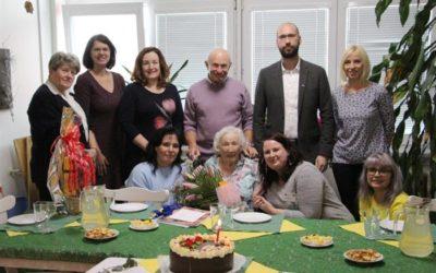 Paní Hildegarda Zebišová žije v Krnově už 100 let