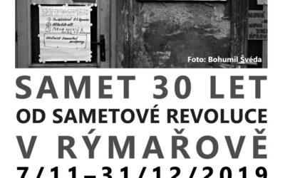 V Rýmařově se uskuteční vernisáž výstavy Samet