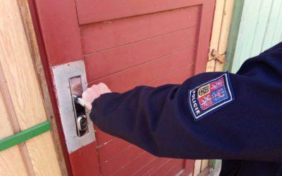 Policie radí: Zabezpečte si své chaty před zloději