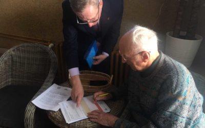 Seniorská obálka může být pomocníkem při záchraně života