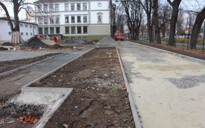 Finální úprava hřiště na Dvořákově okruhu v Krnově se uskuteční zjara