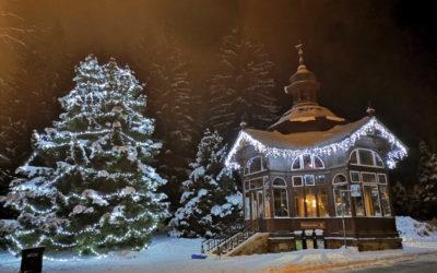 Zima jako v pohádce: Podívejte se na fotografie z Karlovy Studánky