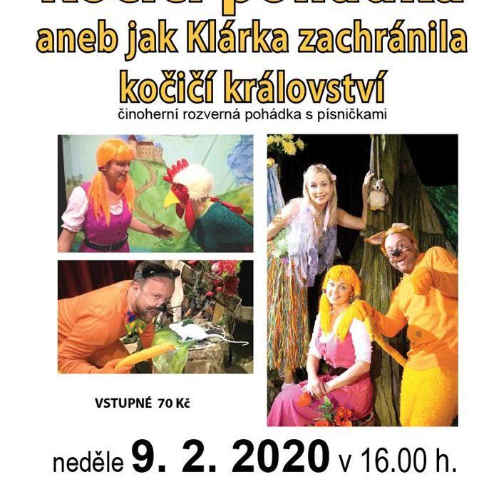 Liduščino divadlo z Prahy zahraje v Bruntále Kočičí pohádku