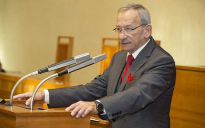 Uctění památky předsedy Senátu Parlamentu ČR Jaroslava Kubery: V pondělí 3. února 2020