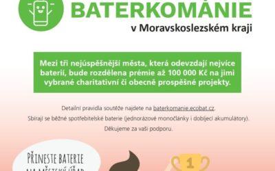 Nominujte projekt, kterému může pomoci Baterkománie