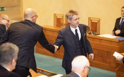 Senát povede Miloš Vystrčil