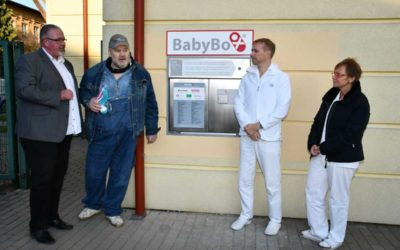 Do nového babyboxu v Opavě někdo odložil chlapečka, dostal jméno Emil