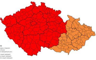 Česko se připravuje na extrémně silný vítr. Přečtěte si doporučení pro občany!