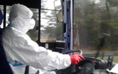 Moravskoslezští hasiči zajistili převoz českých občanů z Polska