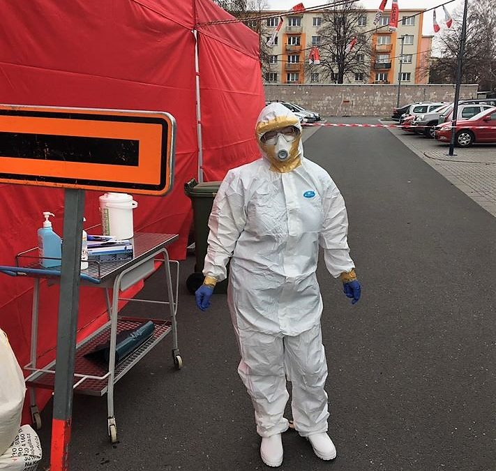 V Krnově začalo fungovat nové odběrové místo pro pacienty s podezřením na koronavirus