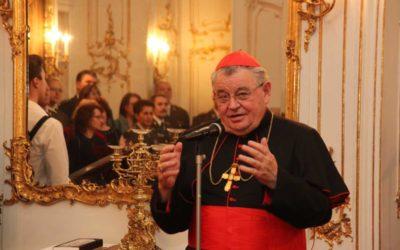 Kardinál Dominik Duka: Ujišťuji nemocné i uvězněné v karanténě, že na ně myslím a modlím se za jejich uzdravení