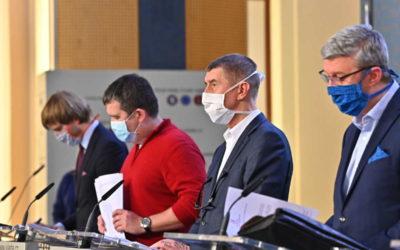 Vláda požádá poslance o prodloužení nouzového stavu o 30 dnů, do 11. května 2020