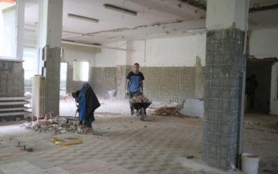 V Krnově začala rekonstrukce školní jídelny v Žižkově ulici