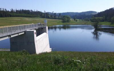 Povodí Odry vyzkoušelo napuštění suché nádrže Jelení