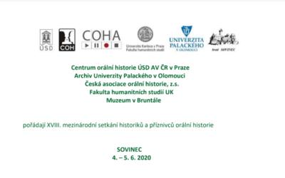 Nevšední pohled na pandemii přinese setkání historiků na hradě Sovinci