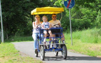 Od 1. července se ve Vrbně znovu otevírá půjčovna kol a koloběžek