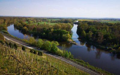 Mezi dominanty města Mělníka patří soutok Labe a Vltavy