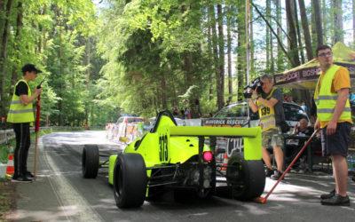 Vrbenský vrch 2020: Podívejte se na fotoreportáž z nedělních automobilových závodů