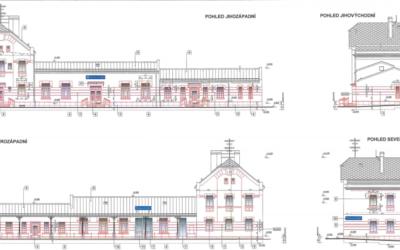 Nádražní budovu Krnov-Cvilín čeká kompletní oprava