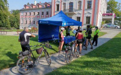 """Projekt """"Na kole jen s přilbou"""" na Opavsku"""