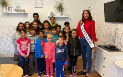 Miss Czech Republic 2020 Karolína Kopíncová navštívila vrbenský dětský domov