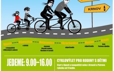 Cyklisté se vydají do Opavy na Fidorku a do Krnova na Kofolu