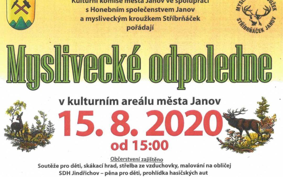V Janově na Osoblažsku připravují Myslivecké odpoledne