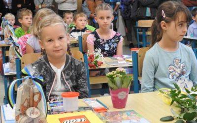 Škola ve Vrbně přivítala nové prvňáčky
