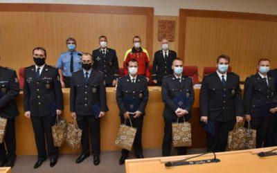 Požár v Bohumíně: Policisté byli hejtmanem oceněni za profesionální zásah