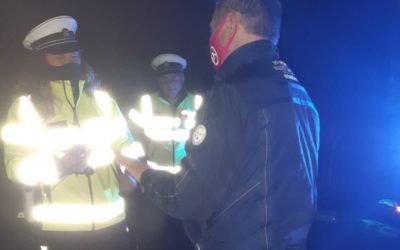Policisté kontrolují dodržování všech mimořádných opatření souvisejících s Covid-19 i o víkendu