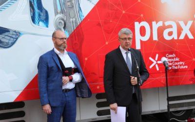 Pojízdná učebna seznámí žáky z celého Česka s technikou a technologiemi