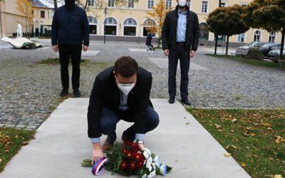 Krnov si připomněl vznik Československa