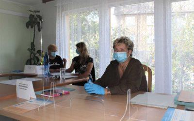 Krajské volby 2020: Ve Vysoké na Osoblažsku dodržují přísná hygienická opatření