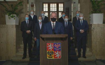 Ministr zdravotnictví Roman Prymula: Stav v ČR se prudce zhoršuje!