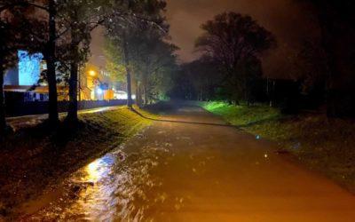 Velká voda v Krnově větší škody nezpůsobila
