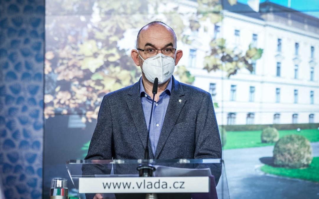 Ministr zdravotnictví Jan Blatný končí, nahradí ho Arenberger