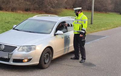 Policejní kontroly na silnicích na Bruntálsku! Probíhá dopravně bezpečností akce