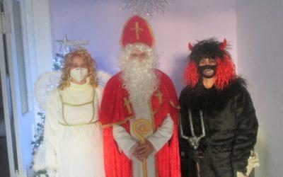 Do Janova zavítal Mikuláš s čertem a andělem