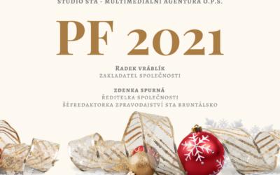 Veselé Vánoce a šťastný nový rok 2021 přeje Studio STA