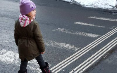 Připomeňte dětem pravidla bezpečného chování vsilničním provozu