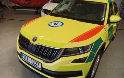 Moravskoslezští záchranáři dostali tři nová auta