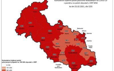 Koronavirus na Bruntálsku: Počet nakažených je 943, zemřelo už 228 lidí!