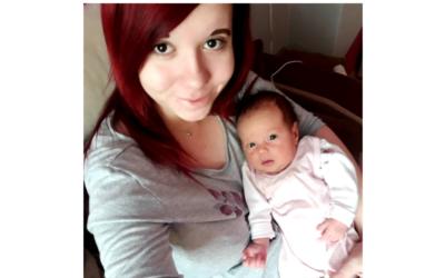 Prvním miminkem roku 2021 v Rýmařově je Klárka