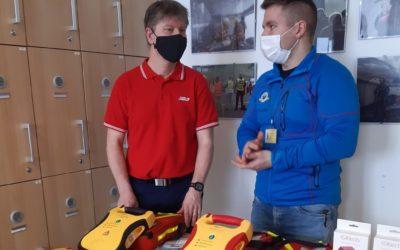 Zdravotnická záchranná služba Moravskoslezského kraje využívá nové pomůcky pro efektivní výuku první pomoci
