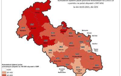 Koronavirus na Bruntálsku: Počet nakažených je 1663, zemřelo už 262 lidí!