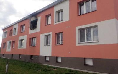 Při požáru v Hlince vznikla škoda za více než 300 tisíc korun