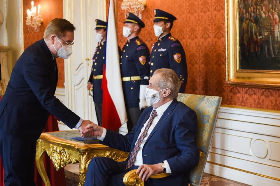 Petr Arenberger je novým ministrem zdravotnictví
