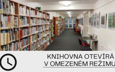 Knihovna v Bruntále otevírá v omezeném režimu